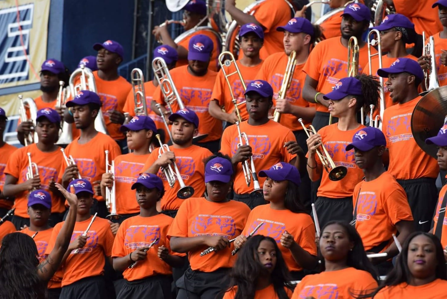 Edward Waters College Pep Band